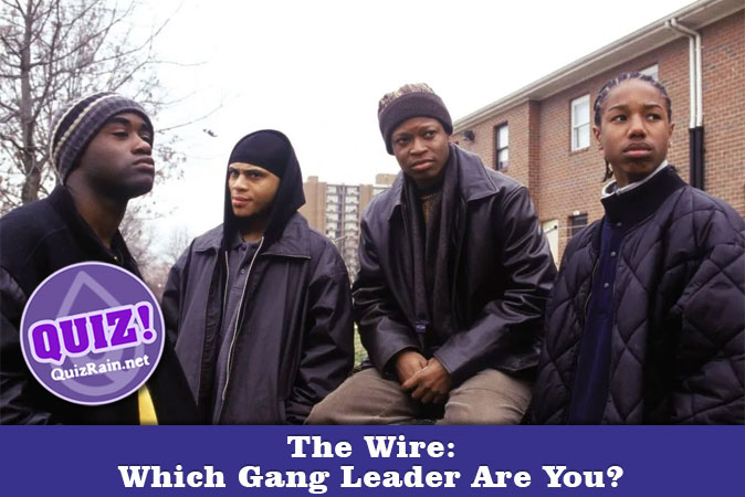 Welcome to Quiz: The Wire Which Gang Leader Are You